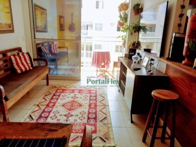 Apartamento com 2 dormitórios à venda, 62 m² por R$ 240.000,00 - Valparaíso - Serra/ES - Foto 3