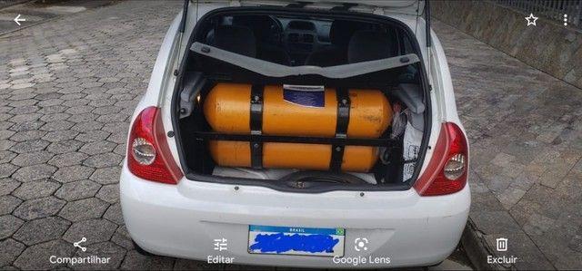 Renault Clio Previlege 1.0 16v completo no GNV - Foto 8