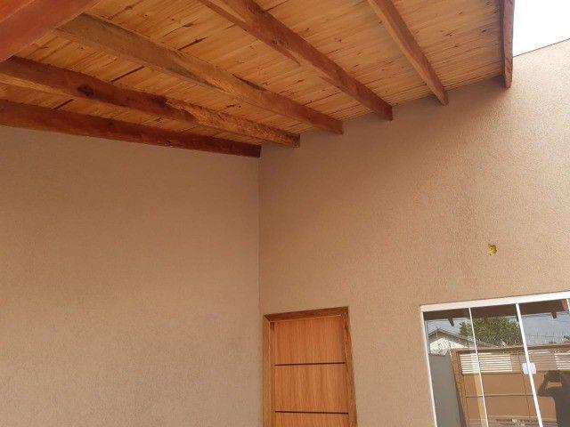 Linda Casa Nova Campo Grande com 3 Quartos No Asfalto - Foto 9