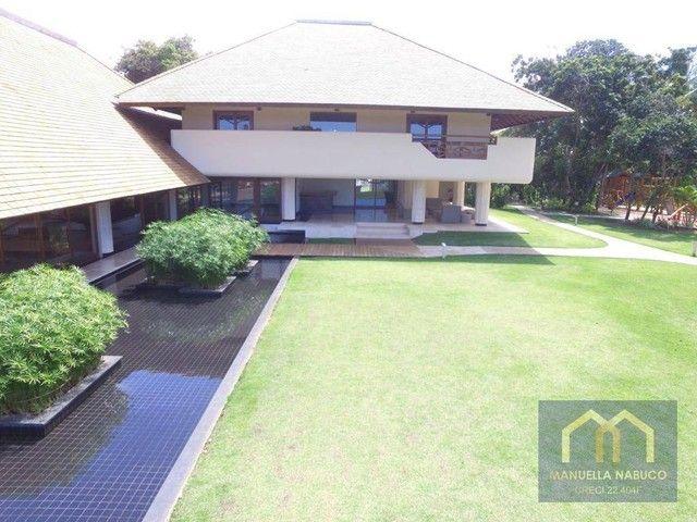 Casa com 6 dormitórios à venda, 400 m² por R$ 5.000.000,00 - Praia do Forte - Mata de São  - Foto 5