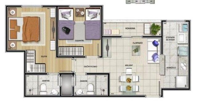 Maravilhoso apartamento Spazio Classique, Centro - Foto 9