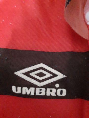 Flamengo antiga da Umbro só para venda tamanho P - Foto 5