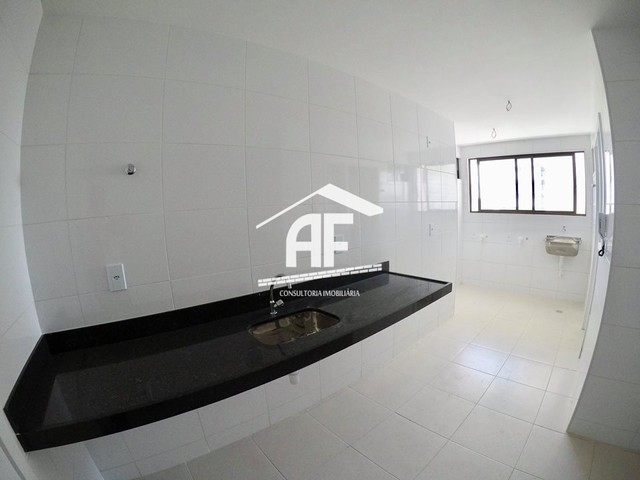 Apartamento Alto padrão com vista total para o mar - 4 quartos (2 suítes) - Foto 8