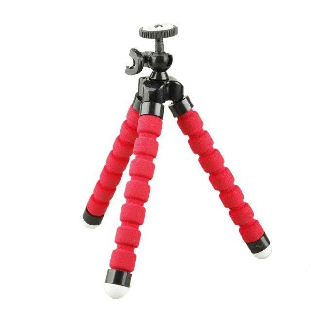 Tripé Flexível Portátil Pequeno para Suporte de Câmera / Celular - Foto 2