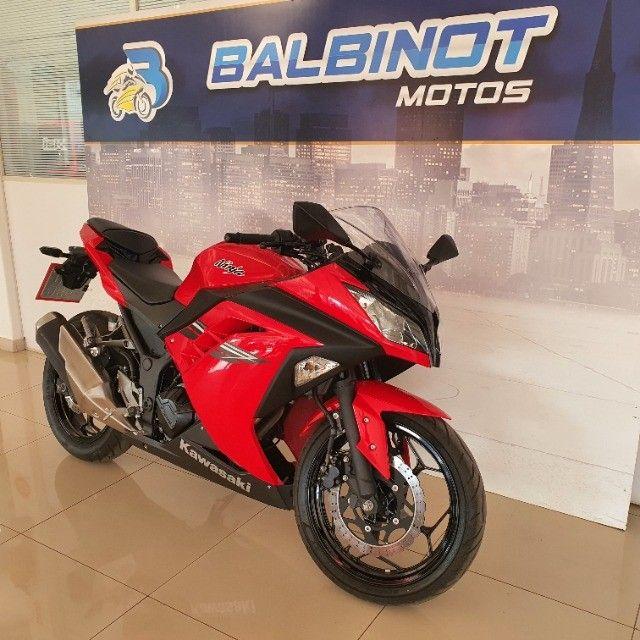 Kawasaki Ninja 300 2017 Vermelha - Foto 2