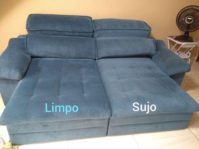 Limpeza de Sofá colchões poltronas cama  - Foto 2