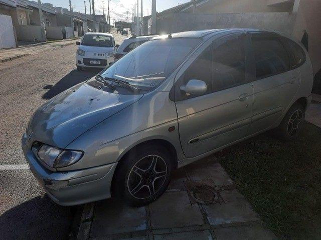 Vendo carro Scenic ano 2000 2.0 8v
