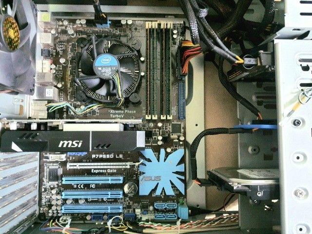 PC Gamer i5 + 8GB Memória + GeForce Gtx 1050 + 240GB ssd + 500GB Hd - Foto 4