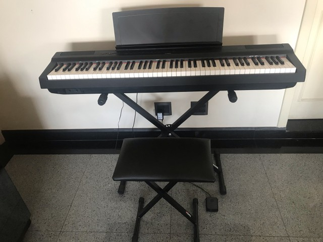 Piano eletrônico YAMAHA P-125 - Foto 2