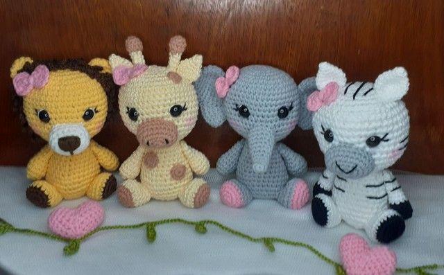 Kit Safari baby amigurumi  - Foto 3