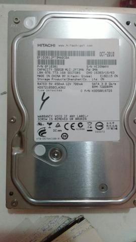 HD 500GB Sata
