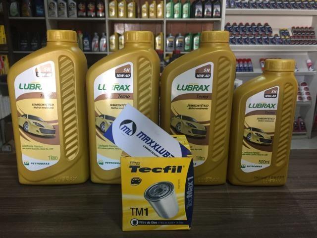 Combo Kit Oleo 10w40 Lubrax + Filtro de Oleo