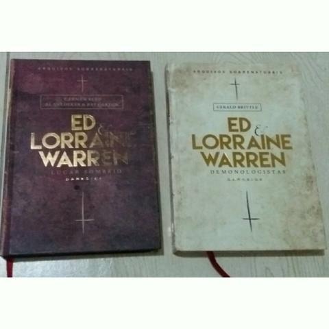 Livros Coleção Ed & Lorraine Warren por 120!