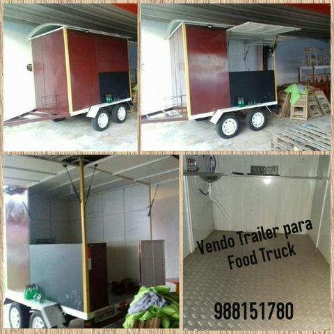 Trailler para Food Truck