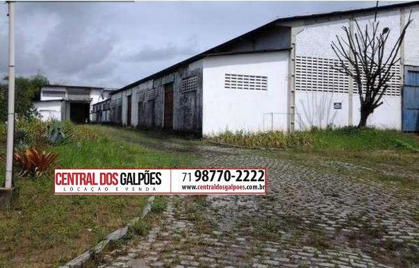 Galpão no centro industrial de aratu