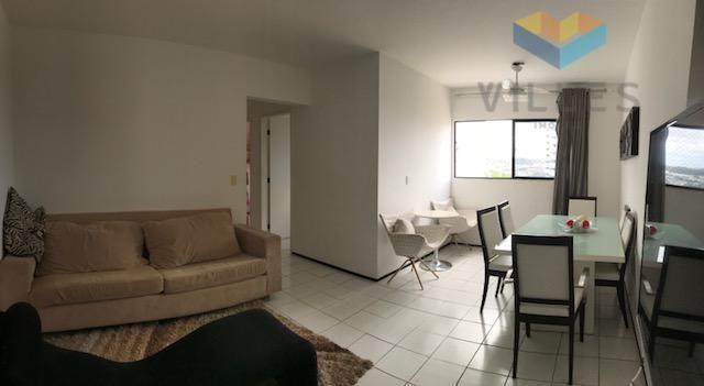Ed. Portal do Sol I Apartamento residencial à venda, Ponta Verde, Maceió.