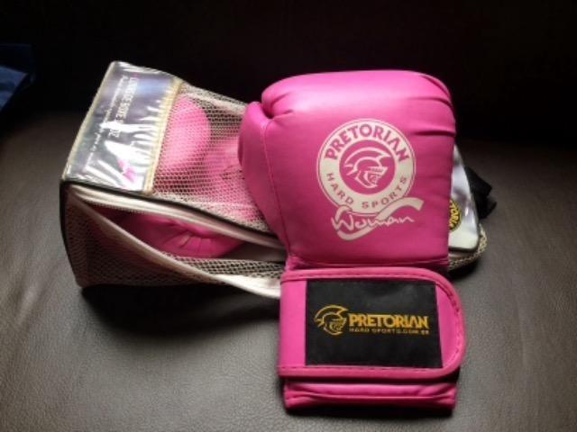 Luvas de Boxe Pretorian Woman Rosa