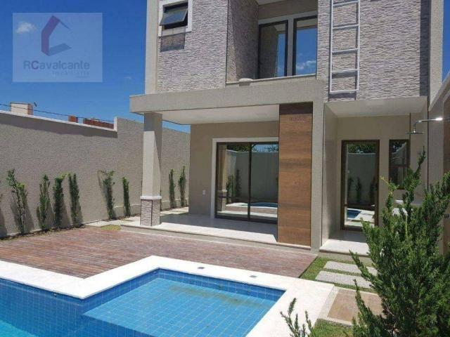 Casa com 4 dormitórios à venda, 152 m² por R$ 569.000,00 - Eusébio - Eusébio/CE - Foto 3