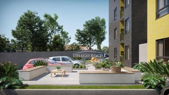 Apartamento térreo com 3 dormitórios à venda, 50 m² por r$ 209.900 - tingui - curitiba/pr - Foto 16