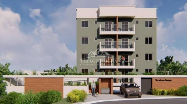 Apartamento garden com 15,45 m² para o seu pet, 2 quartos, churrasqueira e garagem coberta - Foto 11