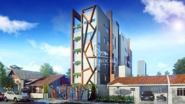 Cobertura duplex com 2 dormitórios à venda, 102 m² por r$ 440.000 - centro - são josé dos