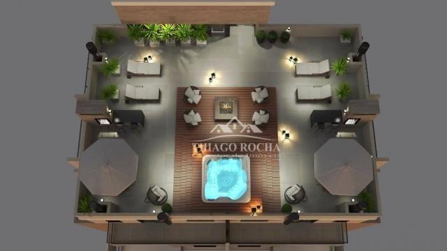 Studio com 1 dormitório à venda, 30 m² por r$ 140.900 - são pedro - são josé dos pinhais/p - Foto 12