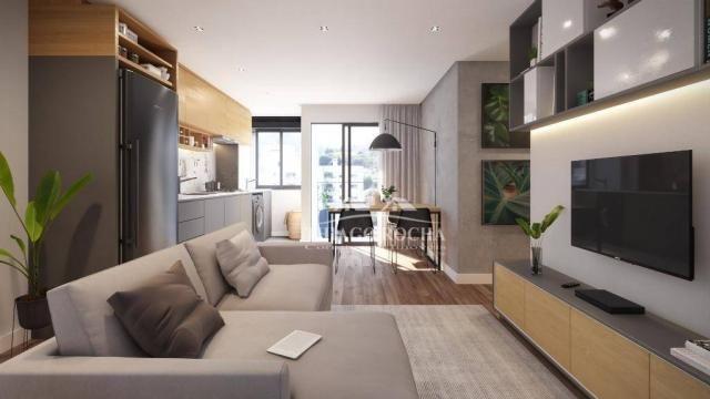 Apartamento térreo com 3 dormitórios à venda, 50 m² por r$ 209.900 - tingui - curitiba/pr - Foto 3