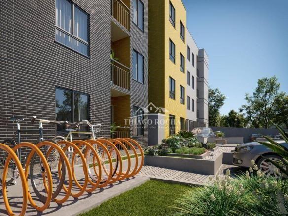 Apartamento térreo com 3 dormitórios à venda, 50 m² por r$ 209.900 - tingui - curitiba/pr - Foto 15