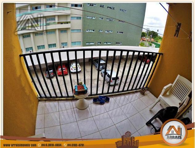 Vendo apartamento 3 quartos no bairro Jacarecanga - Foto 3
