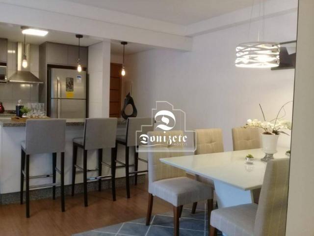 Apartamento à venda, 81 m² por r$ 515.000,00 - jardim - santo andré/sp - Foto 5