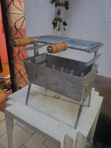 Churrasqueiras de alumínio só HOJE