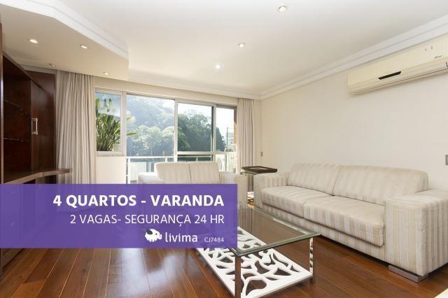 Apartamento para alugar com 4 dormitórios em Cosme velho, Rio de janeiro cod:LIV-3242