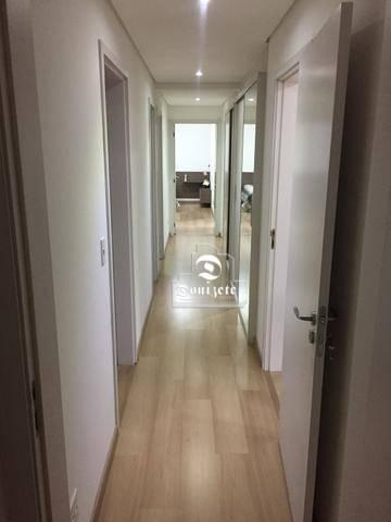 Apartamento com 4 dormitórios à venda, 165 m² por r$ 1.300.000 - bairro jardim - santo and - Foto 8