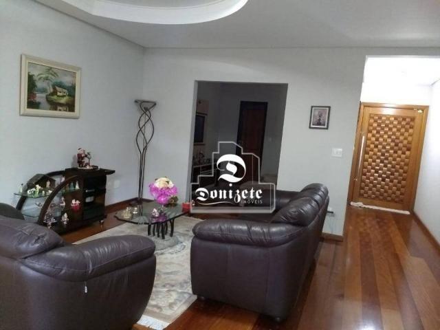 Sobrado com 4 dormitórios à venda, 427 m² por r$ 1.690.000,01 - campestre - santo andré/sp - Foto 2