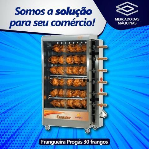 Forno para frangos, espeto ou giratório - NOVO - Foto 4