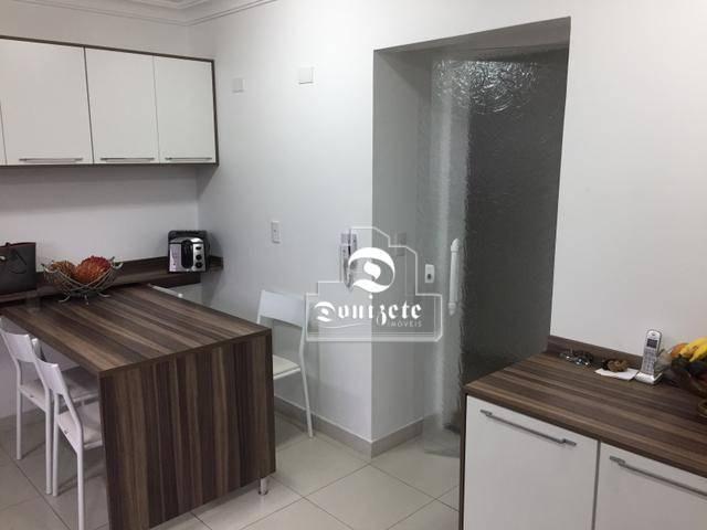 Apartamento com 4 dormitórios à venda, 165 m² por r$ 1.300.000 - bairro jardim - santo and - Foto 14