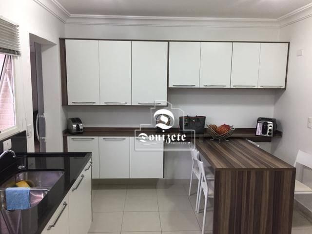 Apartamento com 4 dormitórios à venda, 165 m² por r$ 1.300.000 - bairro jardim - santo and - Foto 13