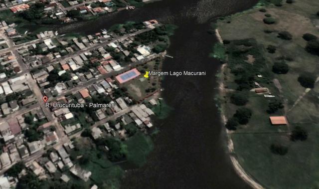 Lindo terreno 4.500m² na margem do Lago do Macurani Parintins - Foto 4