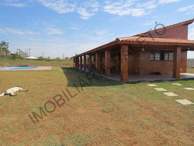 REF 225 Chácara 1187 m², casa novinha, ampla piscina, Imobiliária Paletó - Foto 16