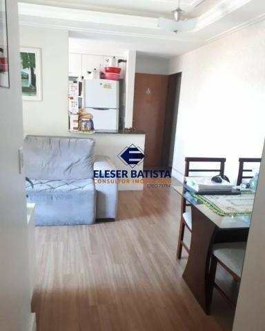 Apartamento à venda com 2 dormitórios em Edifício rio manguinhos, Serra cod:AP00144 - Foto 3