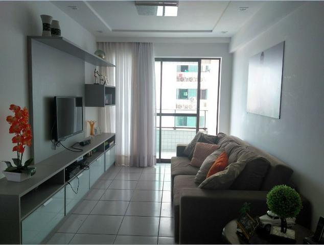 Apartamento 105m, 3/4, 2 vagas, andar alto, Capim Macio, Natal, RN - Foto 3