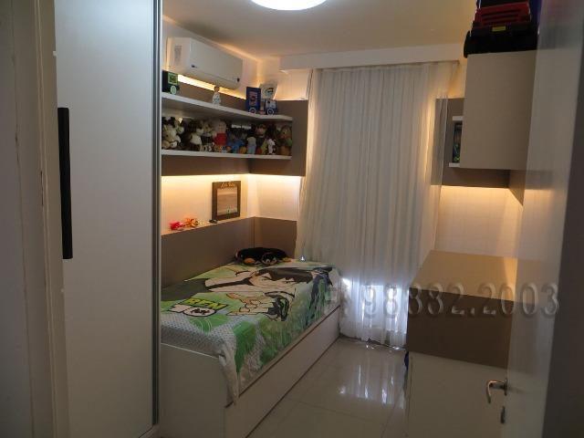 Aceita Troca, apartamento, 92m, 3/4, Lacqua, andar alto, sombra, 2 vagas, Neopolis - Foto 10