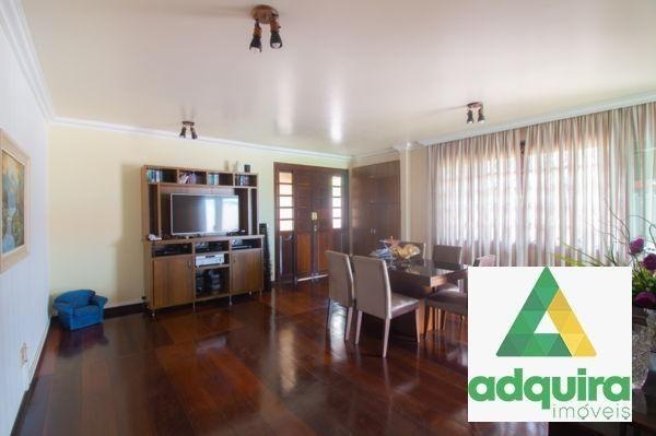 Casa sobrado com 4 quartos - Bairro Jardim Carvalho em Ponta Grossa - Foto 7