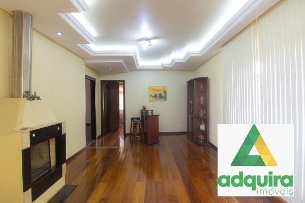 Casa sobrado com 4 quartos - Bairro Jardim Carvalho em Ponta Grossa - Foto 6