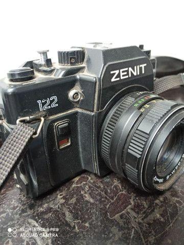 Camera fotográfica Zenit máquina antiguidade - Foto 3