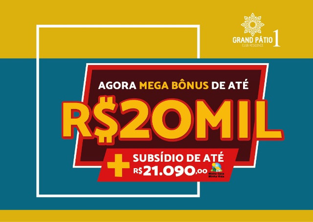 Lançamento Telesil (Grand Patio 1) com desconto de 20 mil reais na entrada!! aproveite - Foto 3