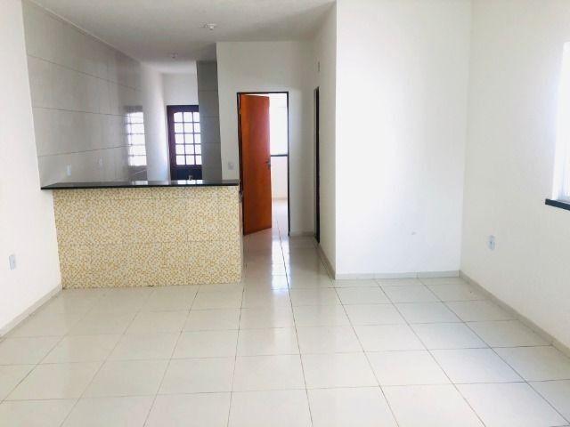 WS casa nova com 2 quartos,2 banheiros,varandao,coz.americana,quintal - Foto 5