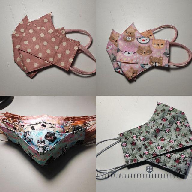 Mascara de tecido - Foto 2