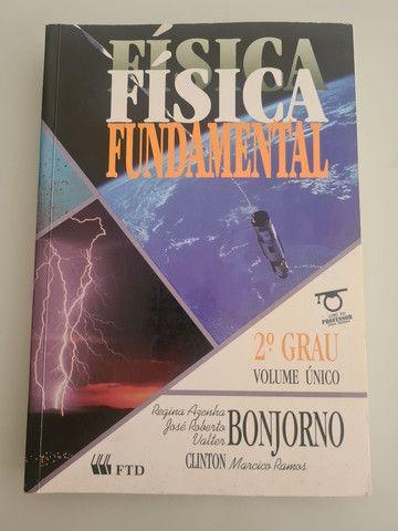 Vendo livro Física Fundamental