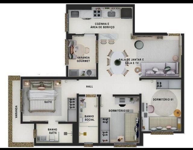Apartamento 82 m² em Santa Barbara D Oeste - Foto 13